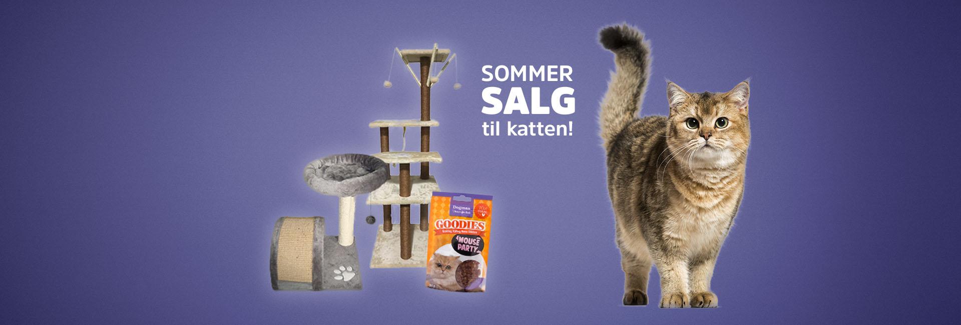 Sommersalg til katten