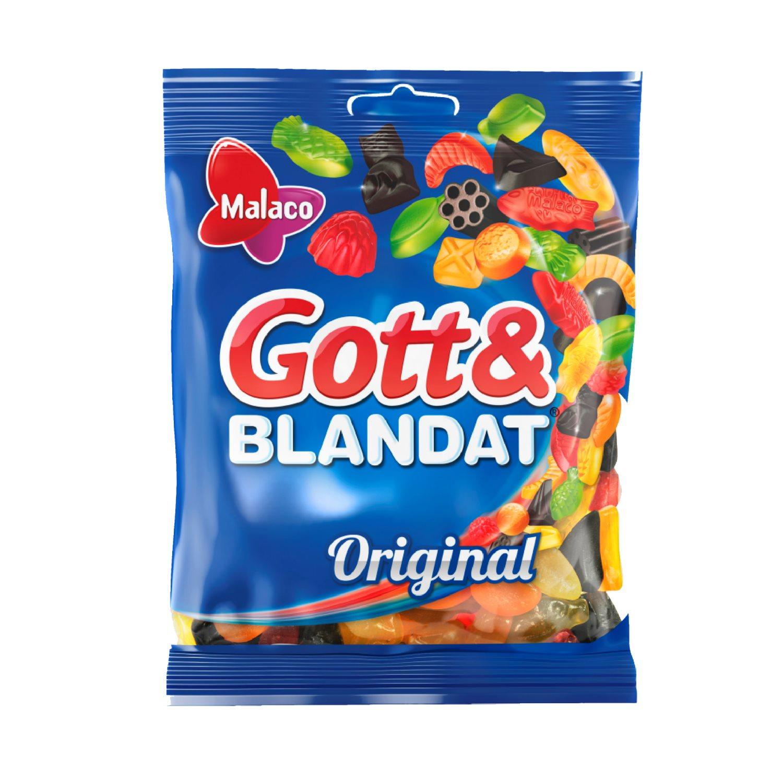 Cloetta Gott o Blandat 160g