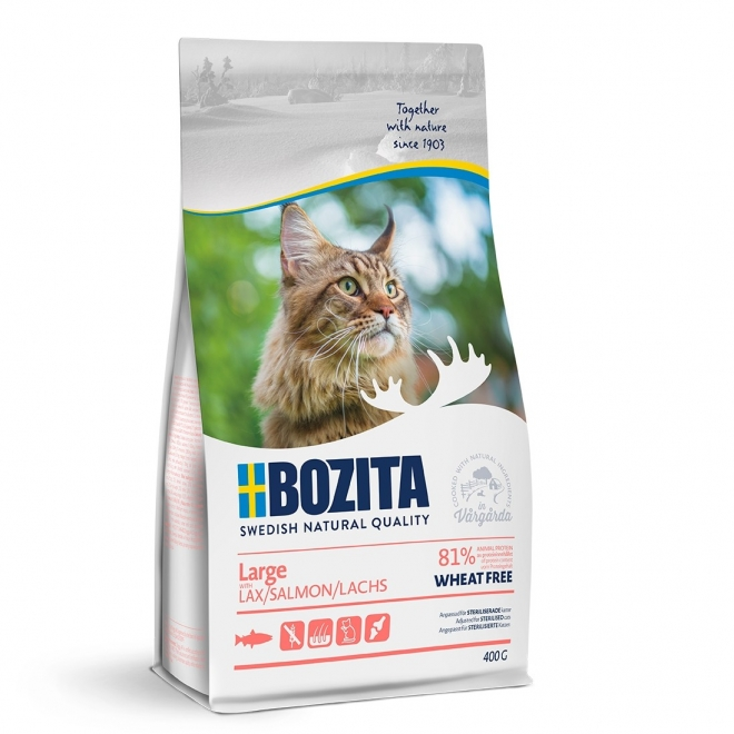 Bozita Large Cat WF Lax 400g