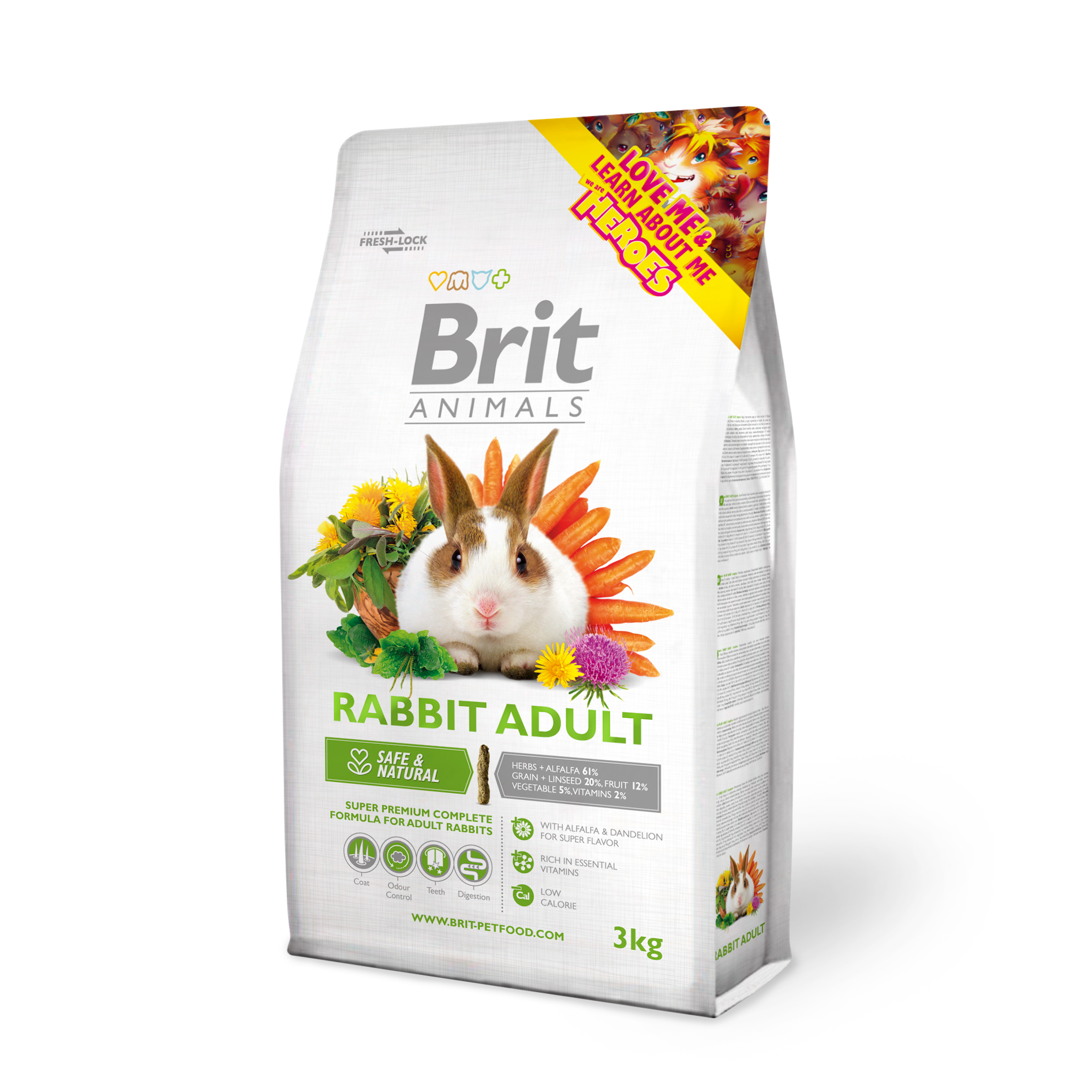 Brit Animals Complete Kanin Adult 3Kg