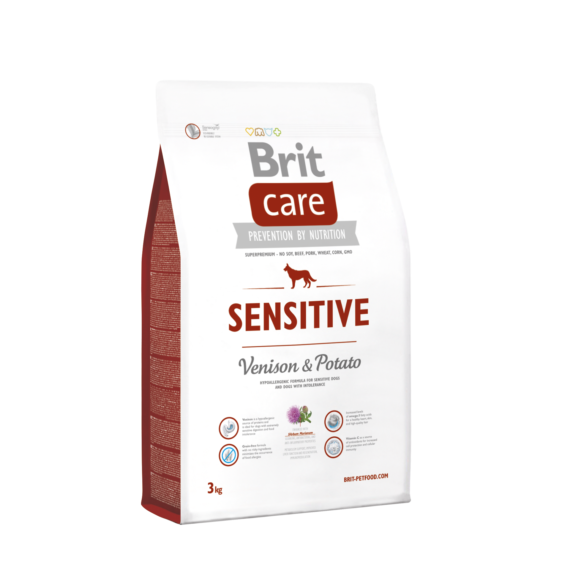 Brit Sensitive Venison o Potato 3Kg