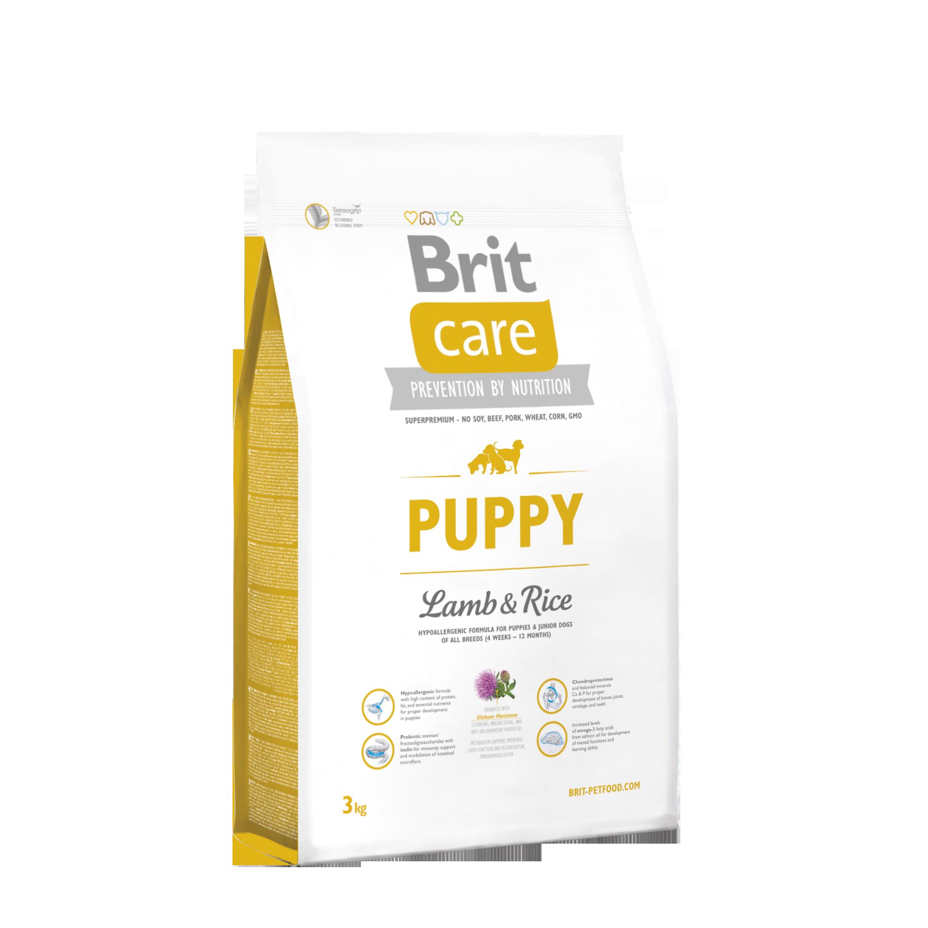 Brit Puppy Lamb o Rice 3Kg