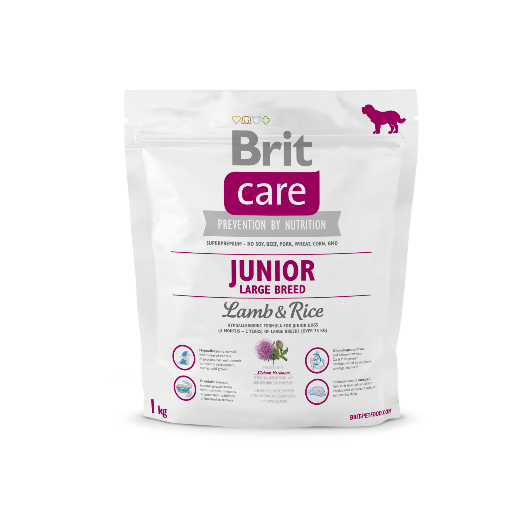 Brit Junior Large Lamb o Rice 1Kg
