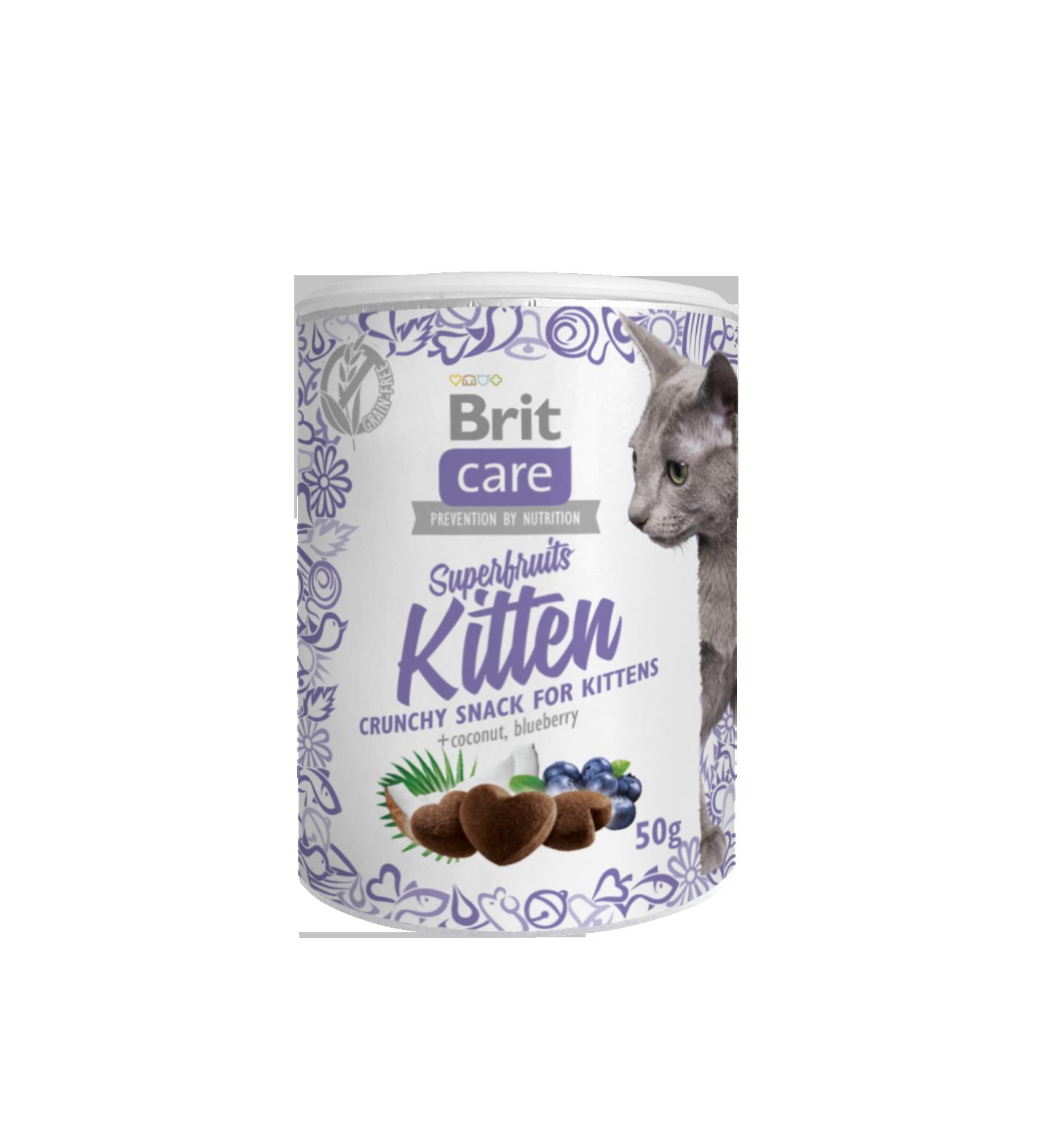 Brit Snack Superfruits Kitten 100g