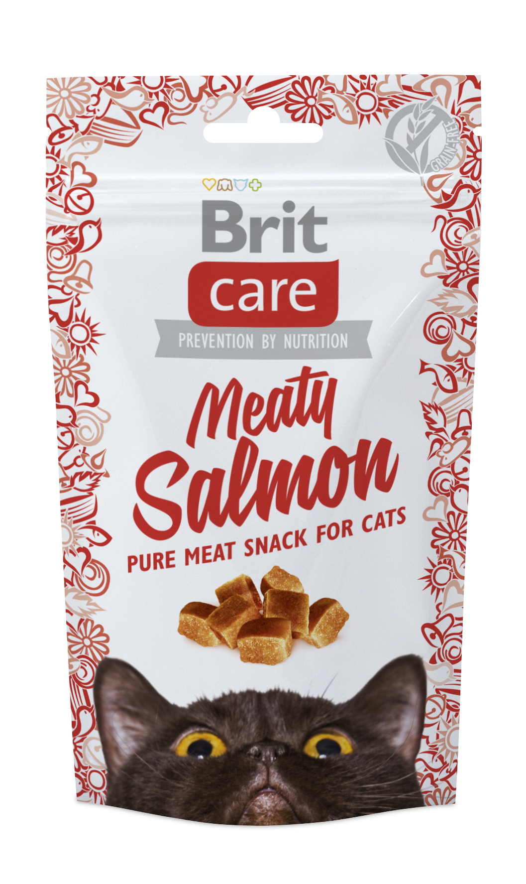 Brit Snack Meaty Salmon 50g