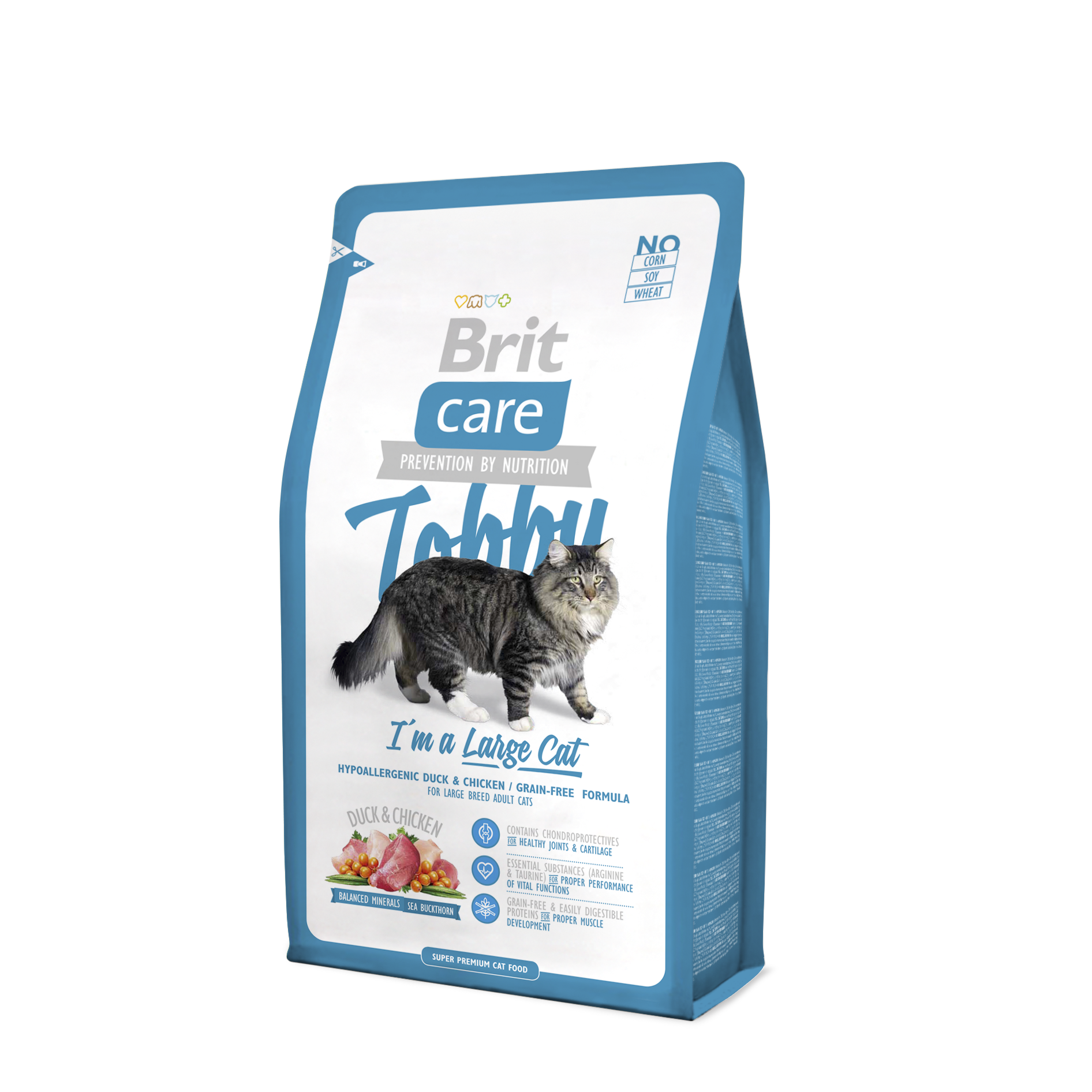 Brit Care Tobby I m A Large Cat 7Kg