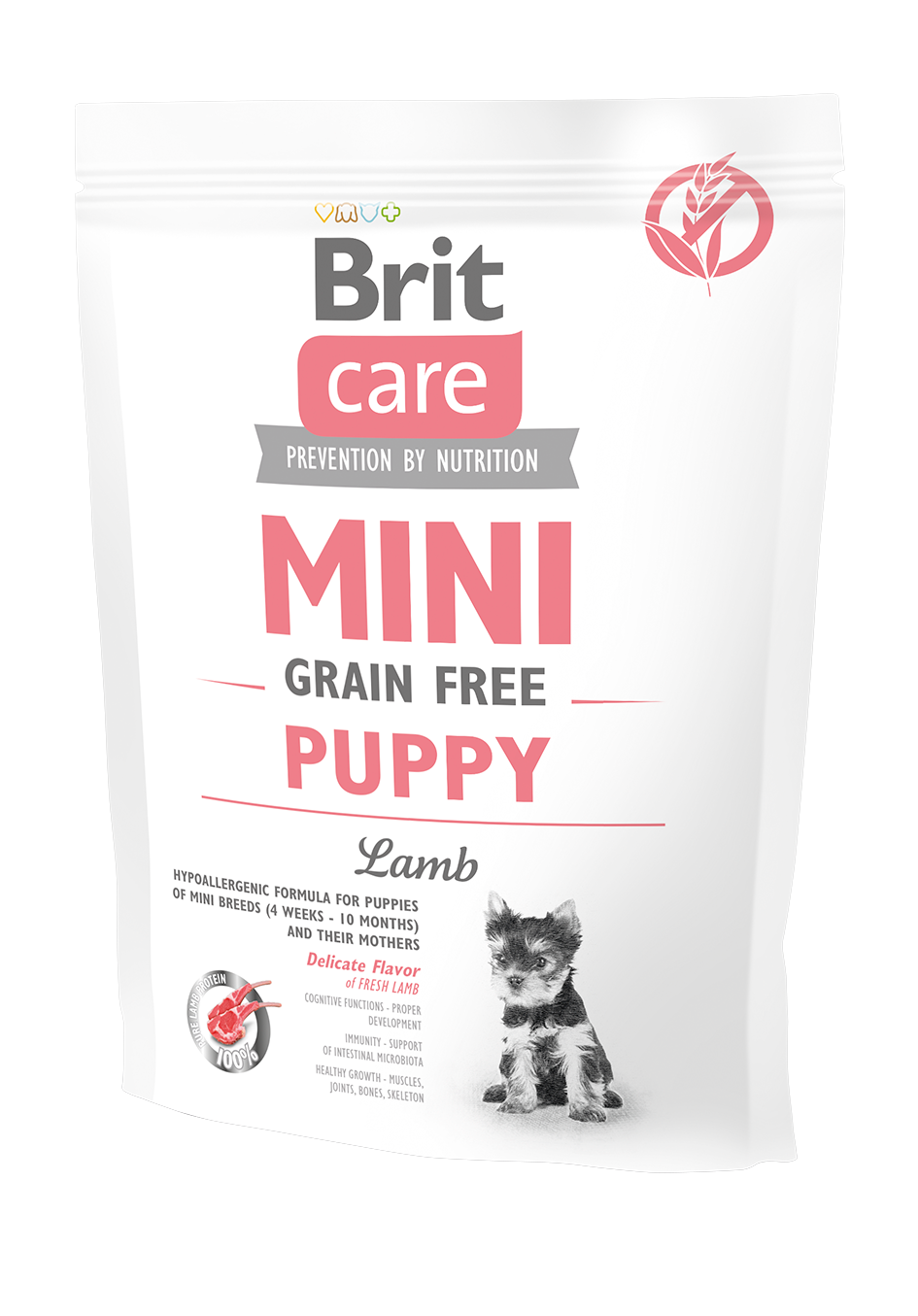 Brit Mini Gr.Free Puppy Lamb 400g