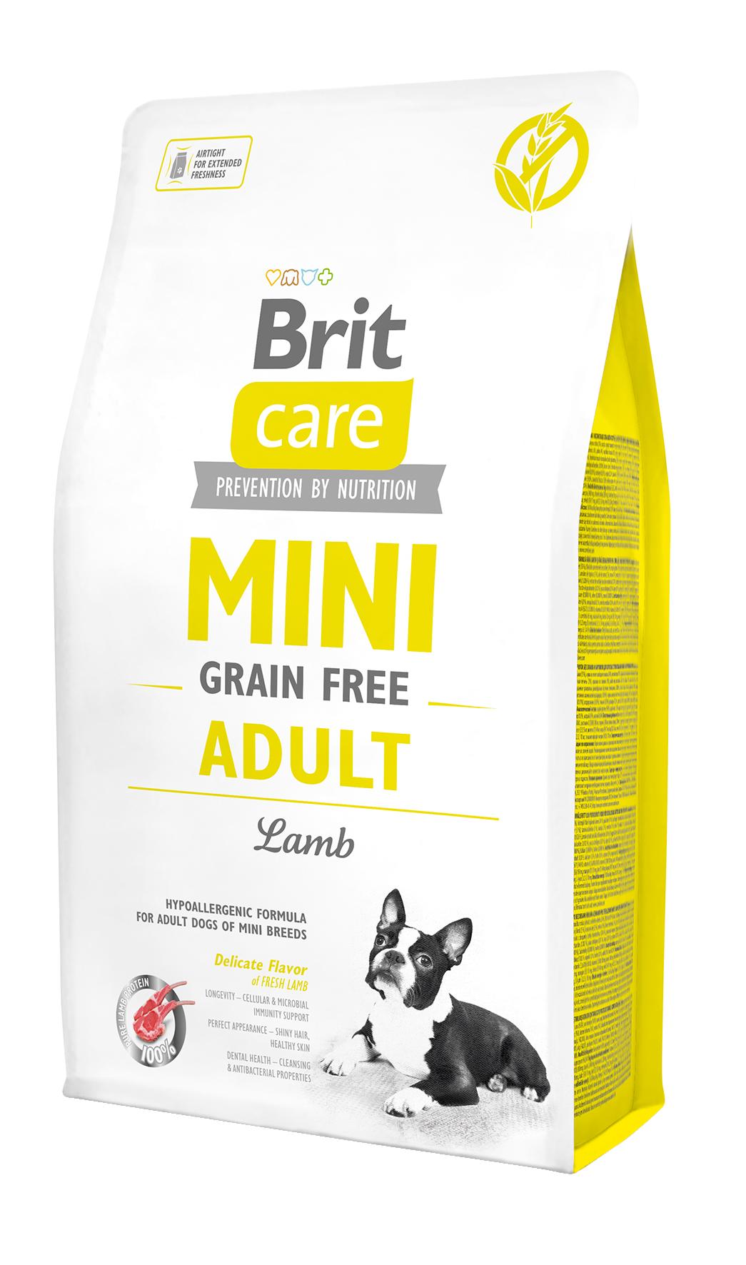 Brit Mini Gr.Free Adult Lamb 2Kg