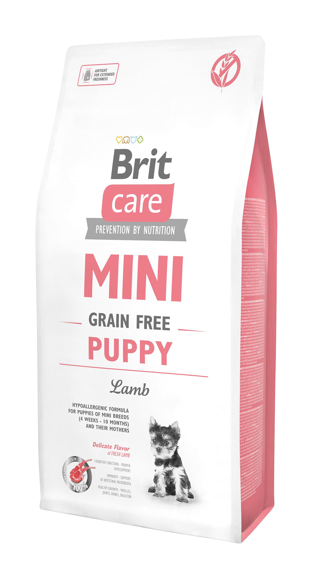 Brit Mini Gr.Free Puppy Lamb 7Kg