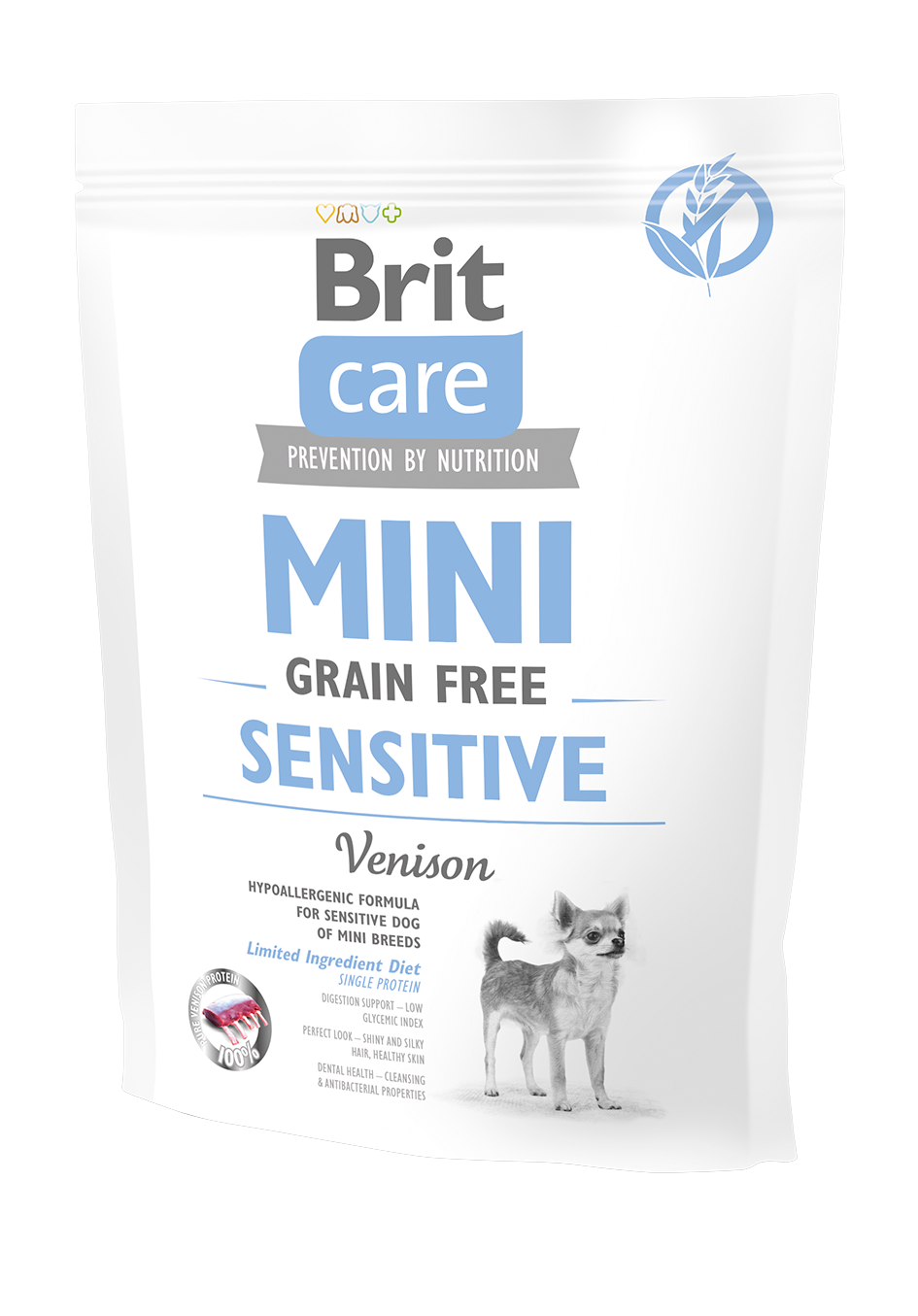 Brit Mini Gr.Free Sensitive 400g