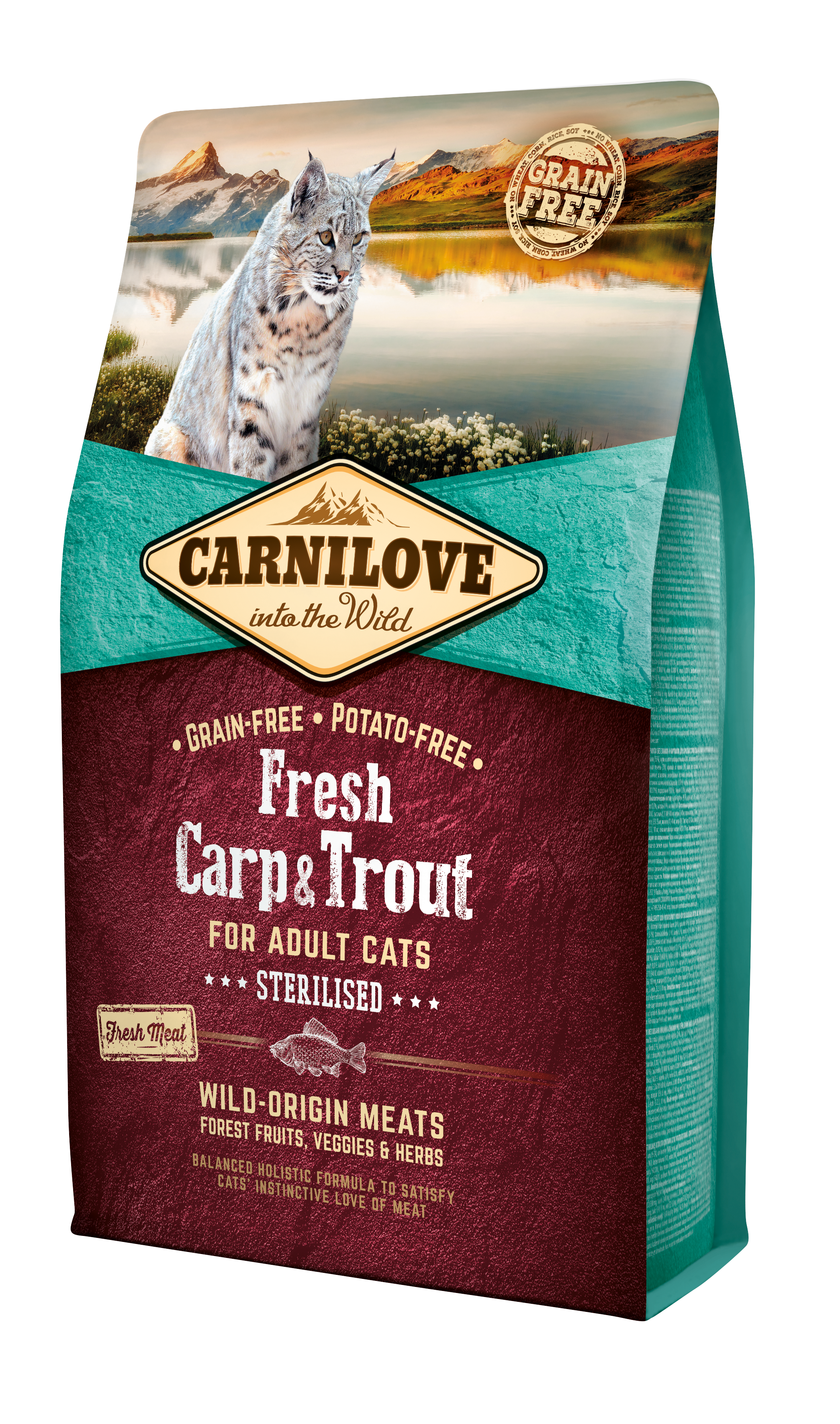 Carnilove Fresh Carp o Trout Sterilised 2Kg