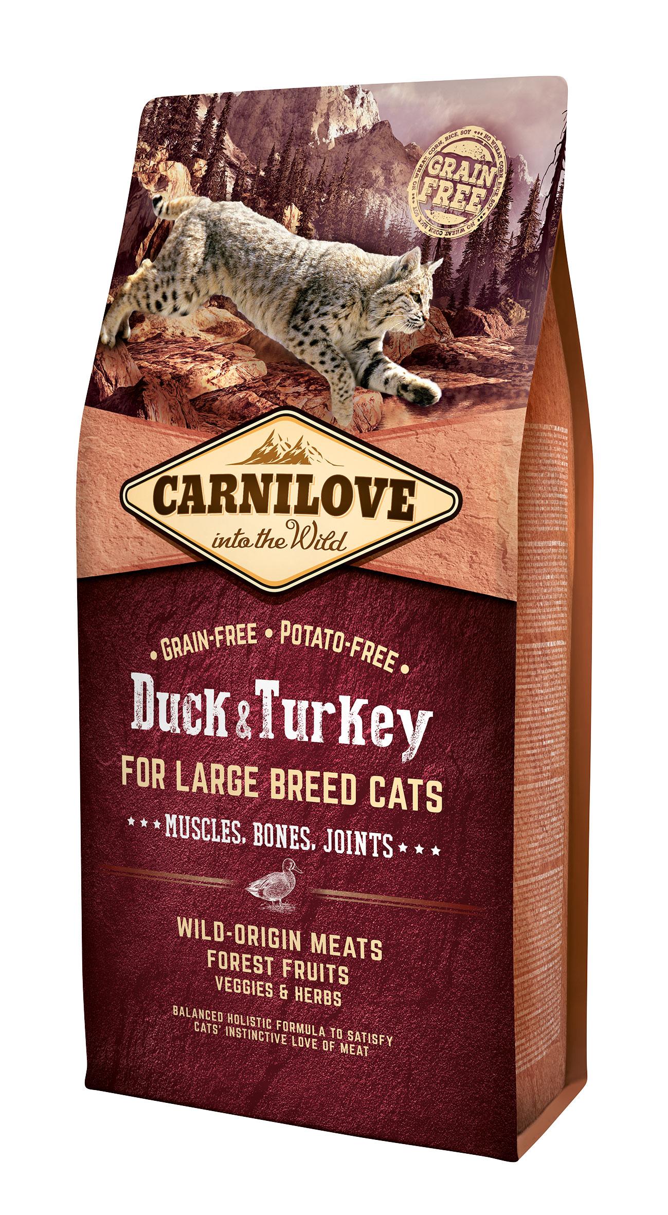 Carnilove Duck o Turkey Large Breed 6kg