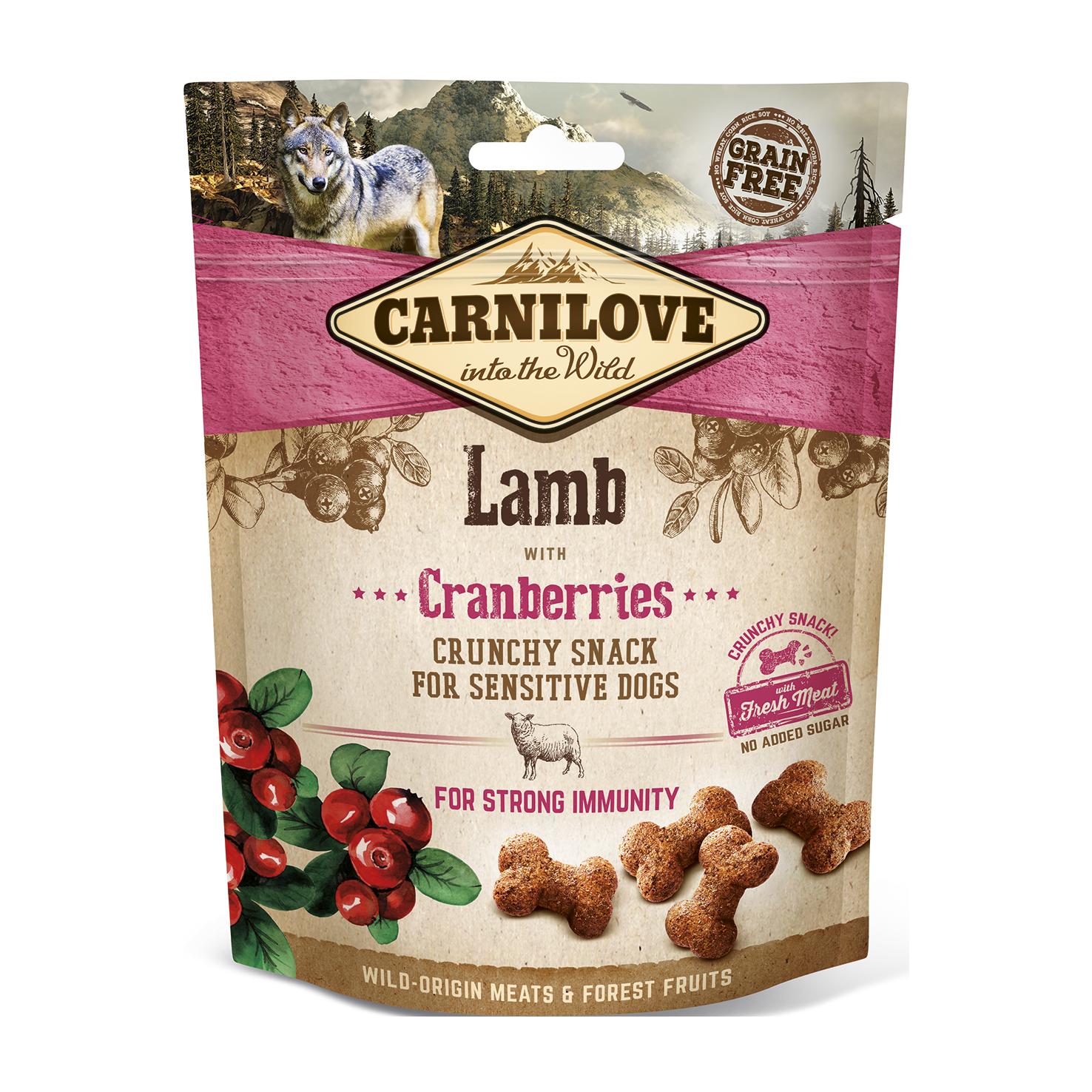 Carnilove Snack Crunchy Lamb o Cranberry 200g