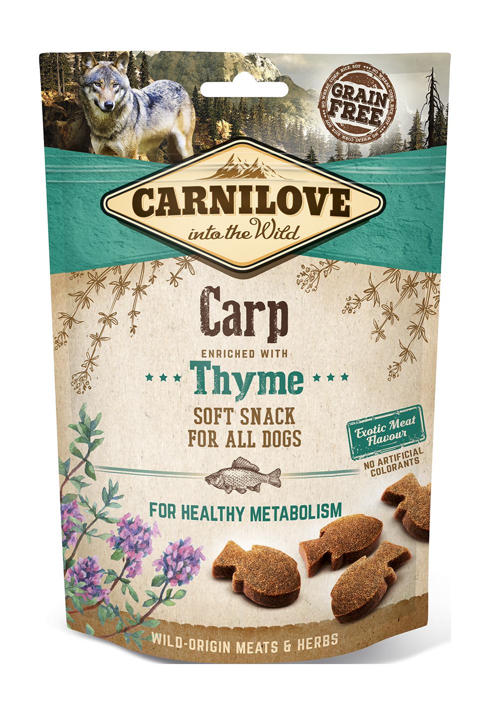 Carnilove Snack Semimoist CarpoThyme 200g