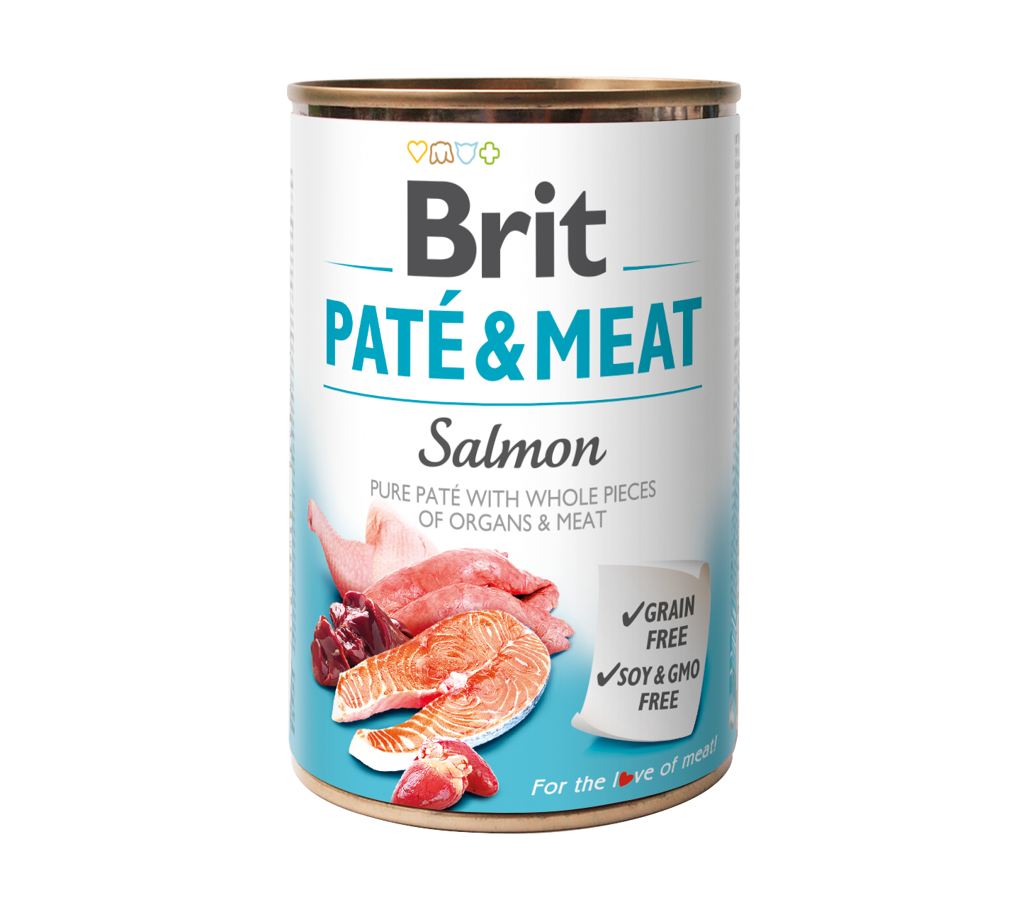Brit Paté o Meat Salmon 400g