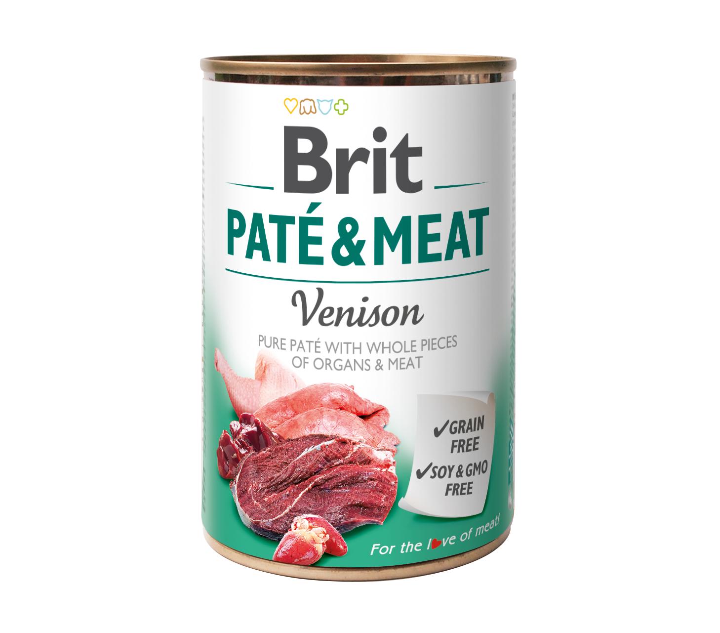 Brit Paté o Meat Venison 400g