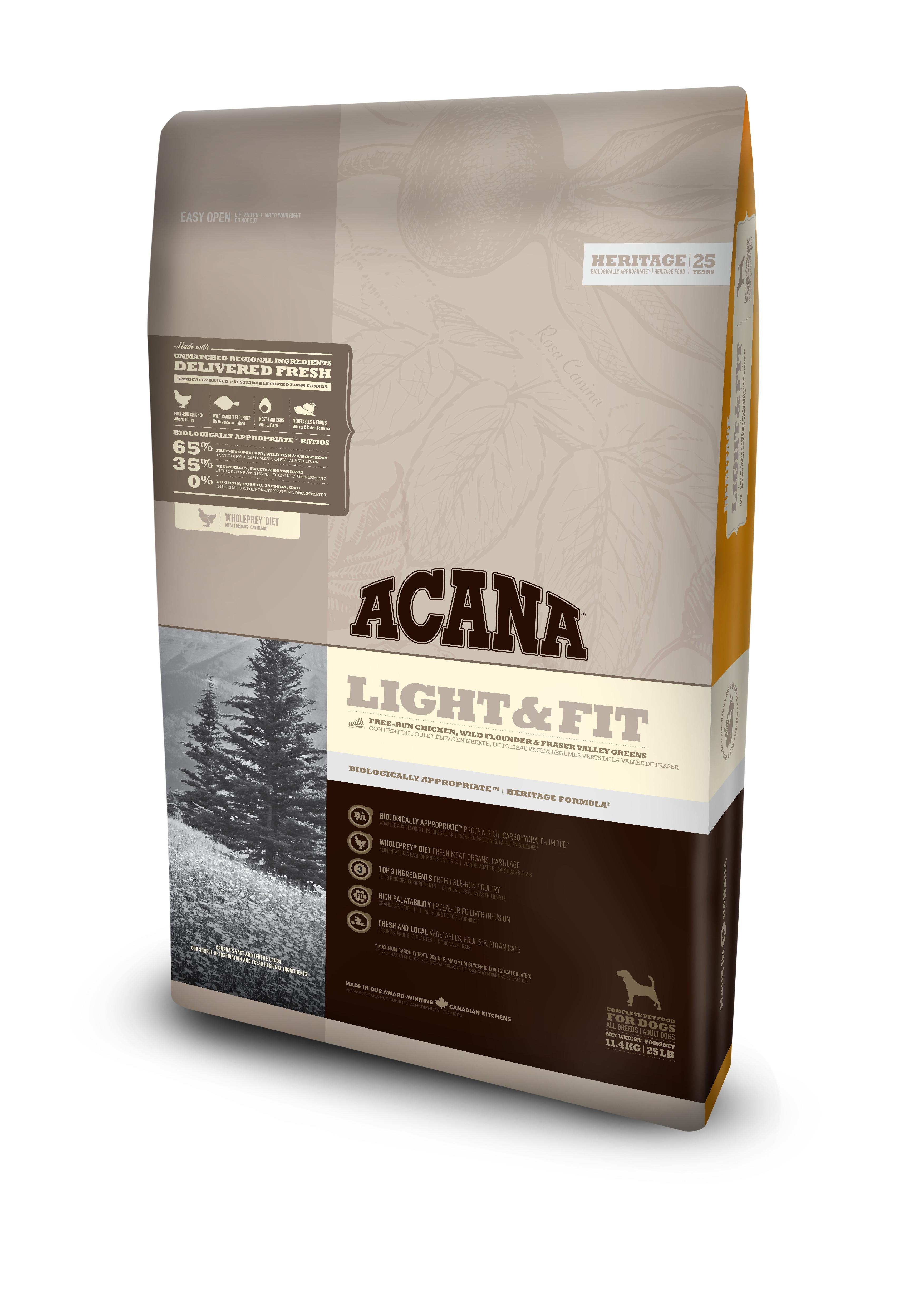Bilde av Acana Light & Fit 11,4kg