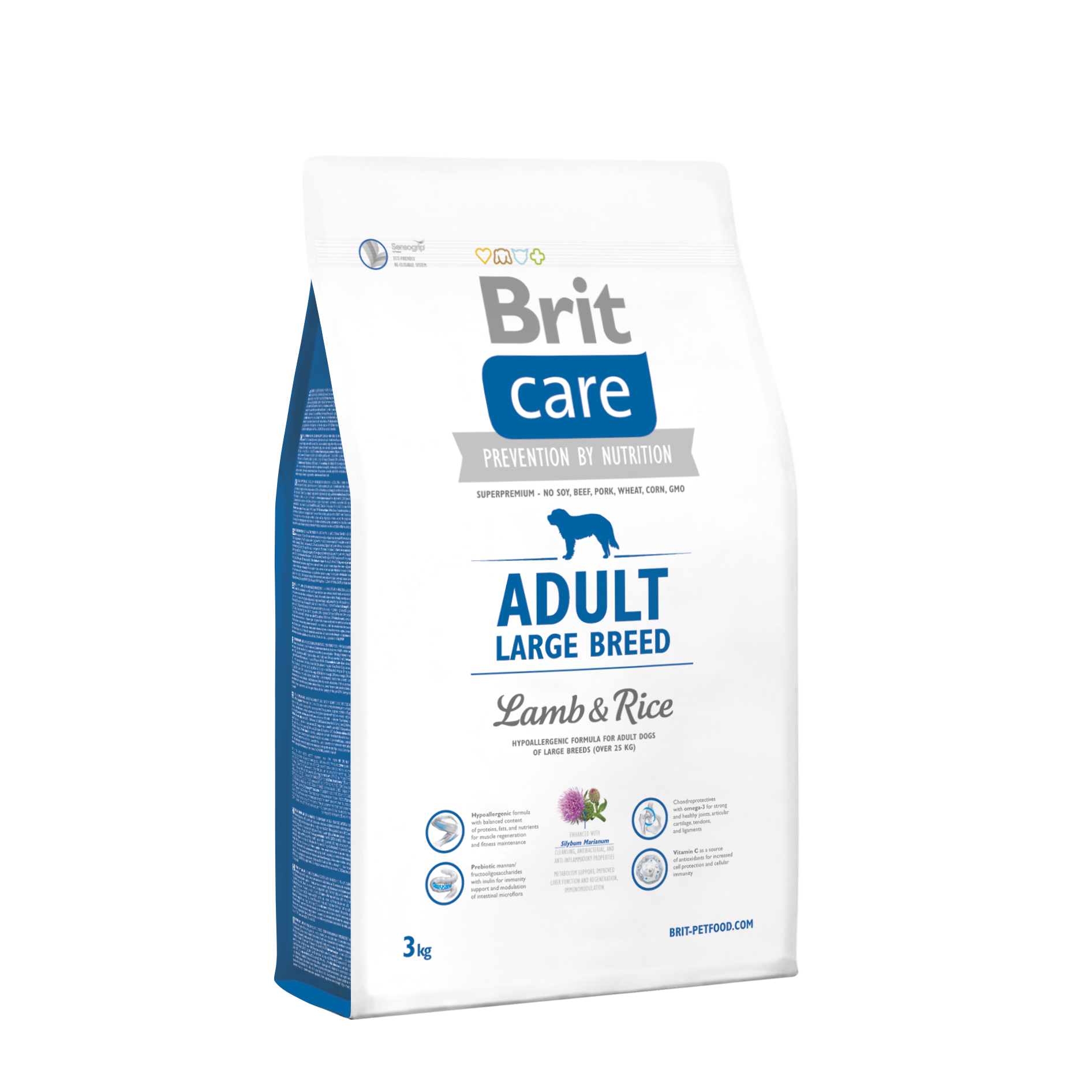 Brit Adult Large Lamb o Rice 3Kg