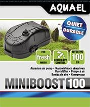 Aquael Luftpump Miniboost 100l/h