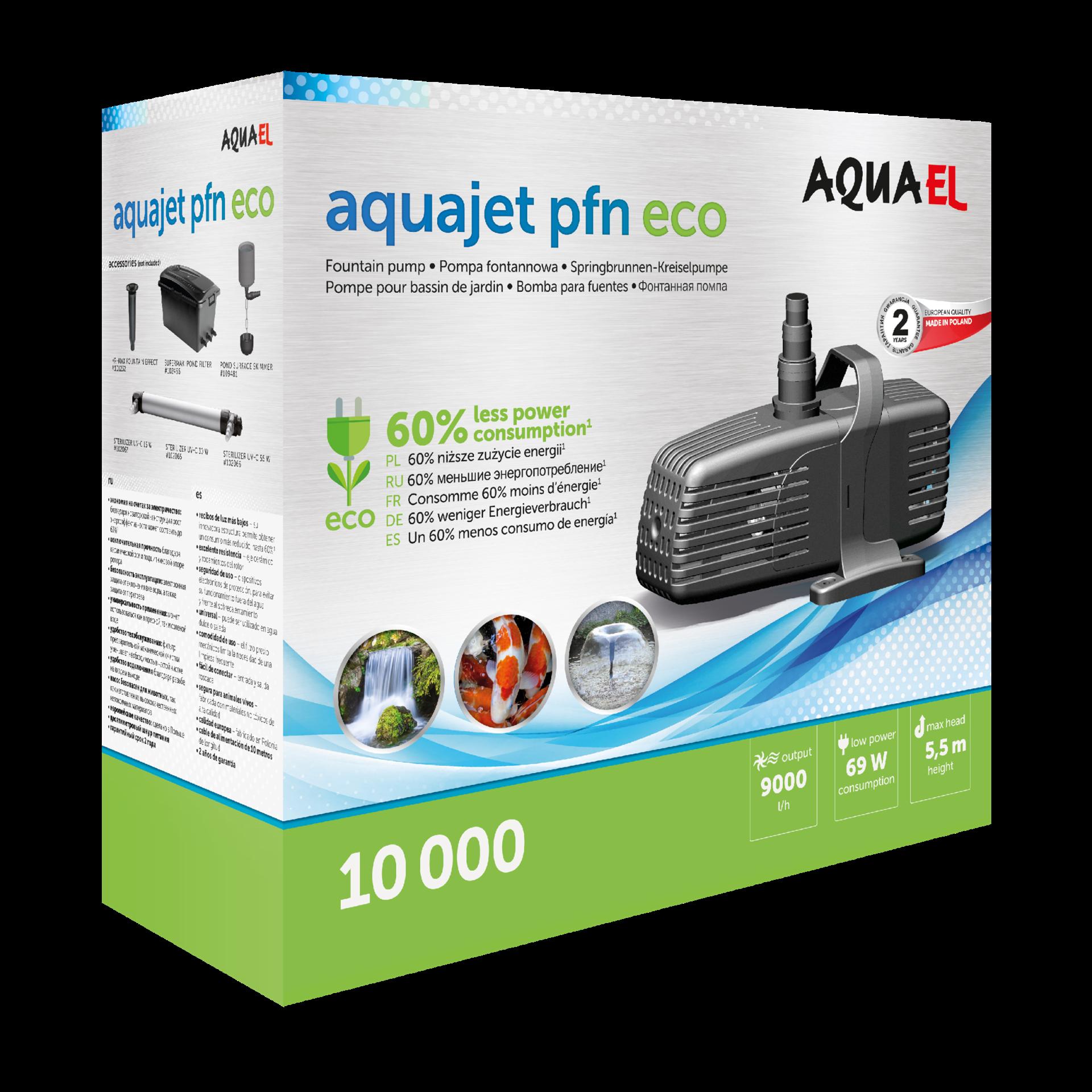 Aquael Dammpump AquaJet PFN ECO