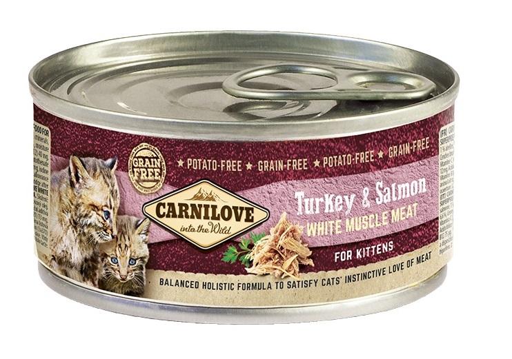 Carnilove Meat Turkey o Salmon 100g