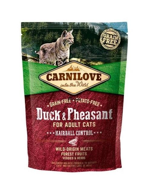 Carnilove Duck o Pheasant Hairball 400g