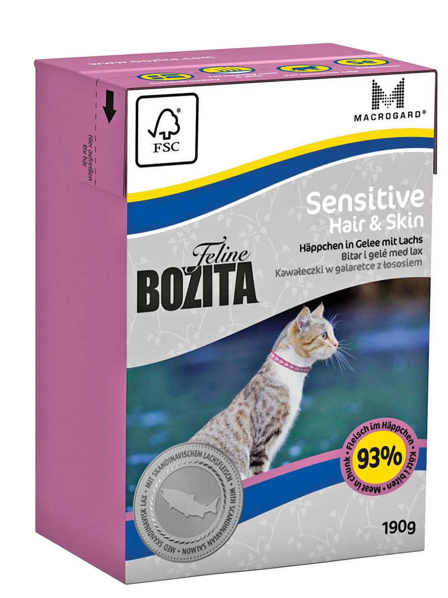 Bozita Blötmat Hair o Skin Sensitive 190g