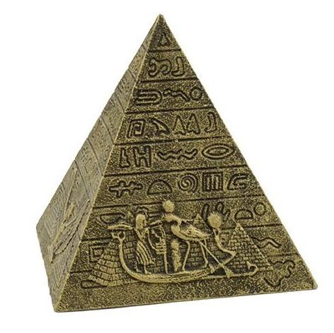 Dogman Dekor Gyllene Pyramid S 10cm