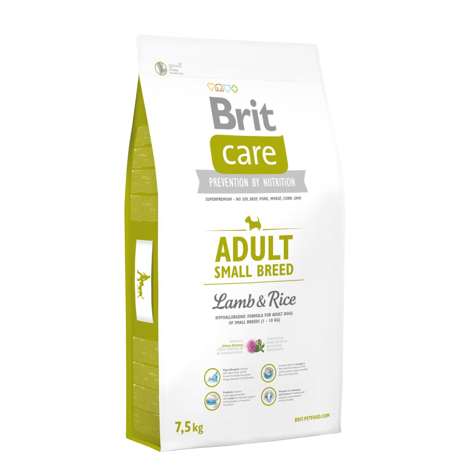 Brit Adult Small Lamb o Rice 7,5Kg