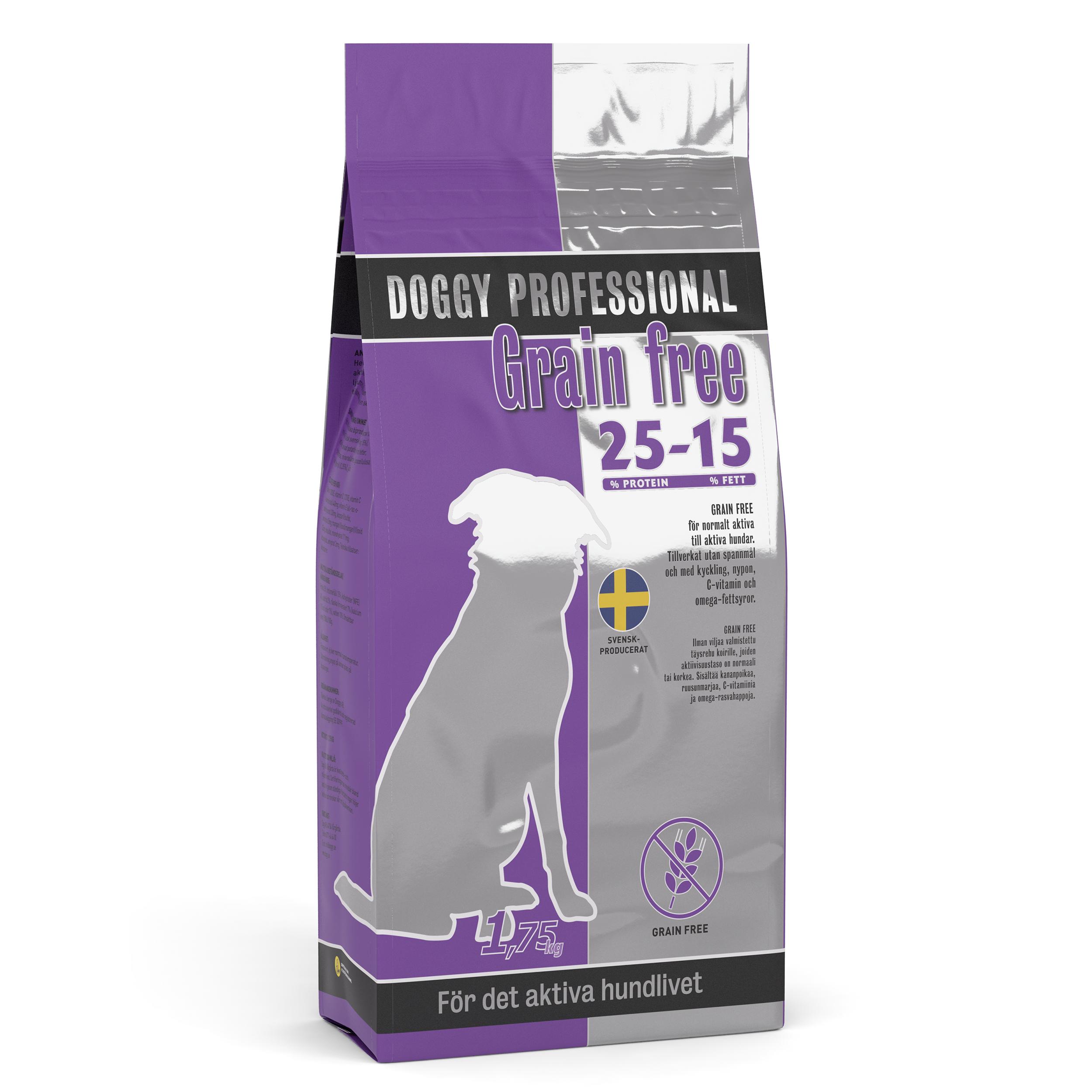 Doggy Adult GF m Kyckling 1,75kg