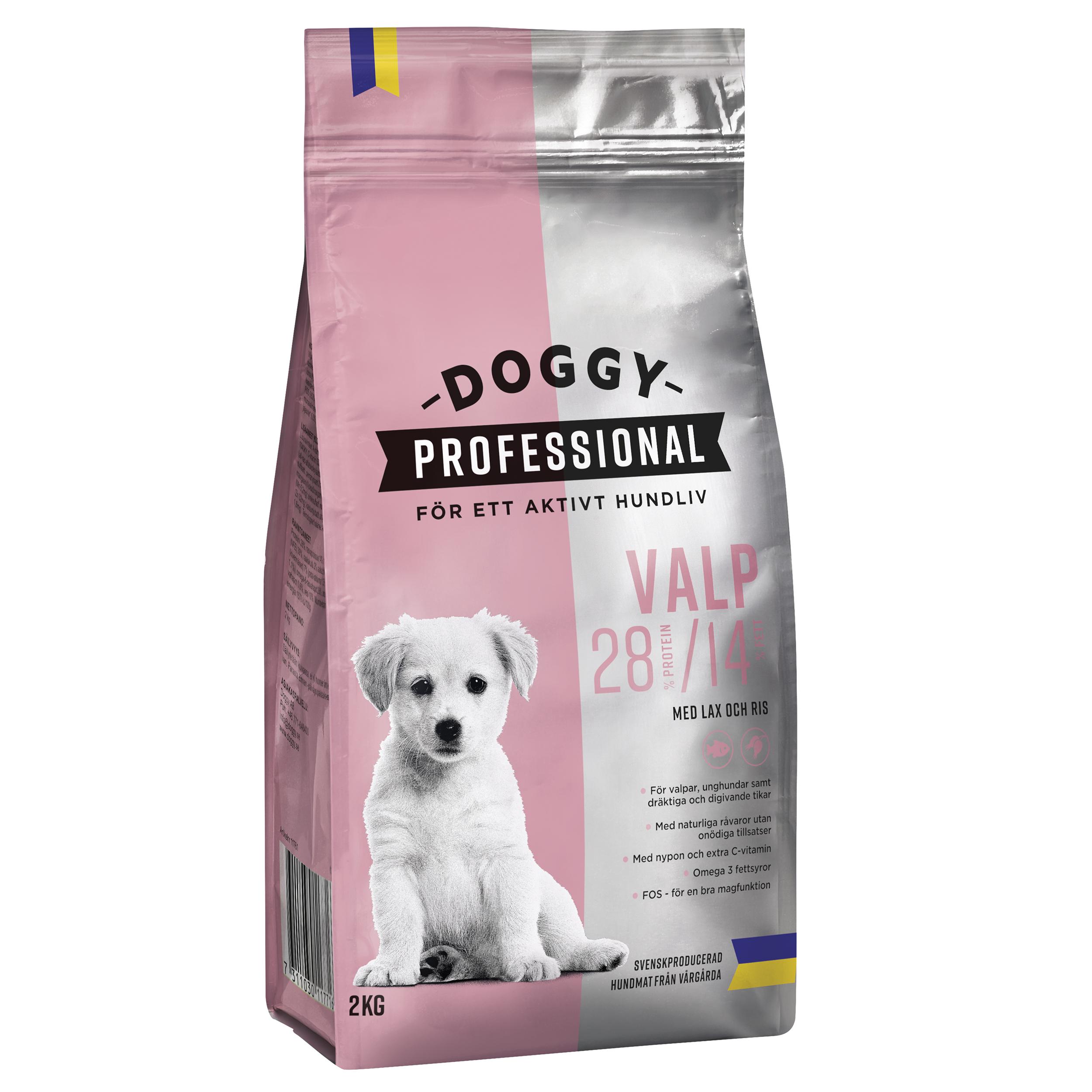 Doggy Valp m Lax o Ris 2kg