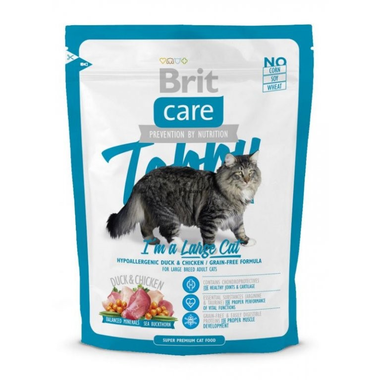Brit Care Tobby I m A Large Cat 400g