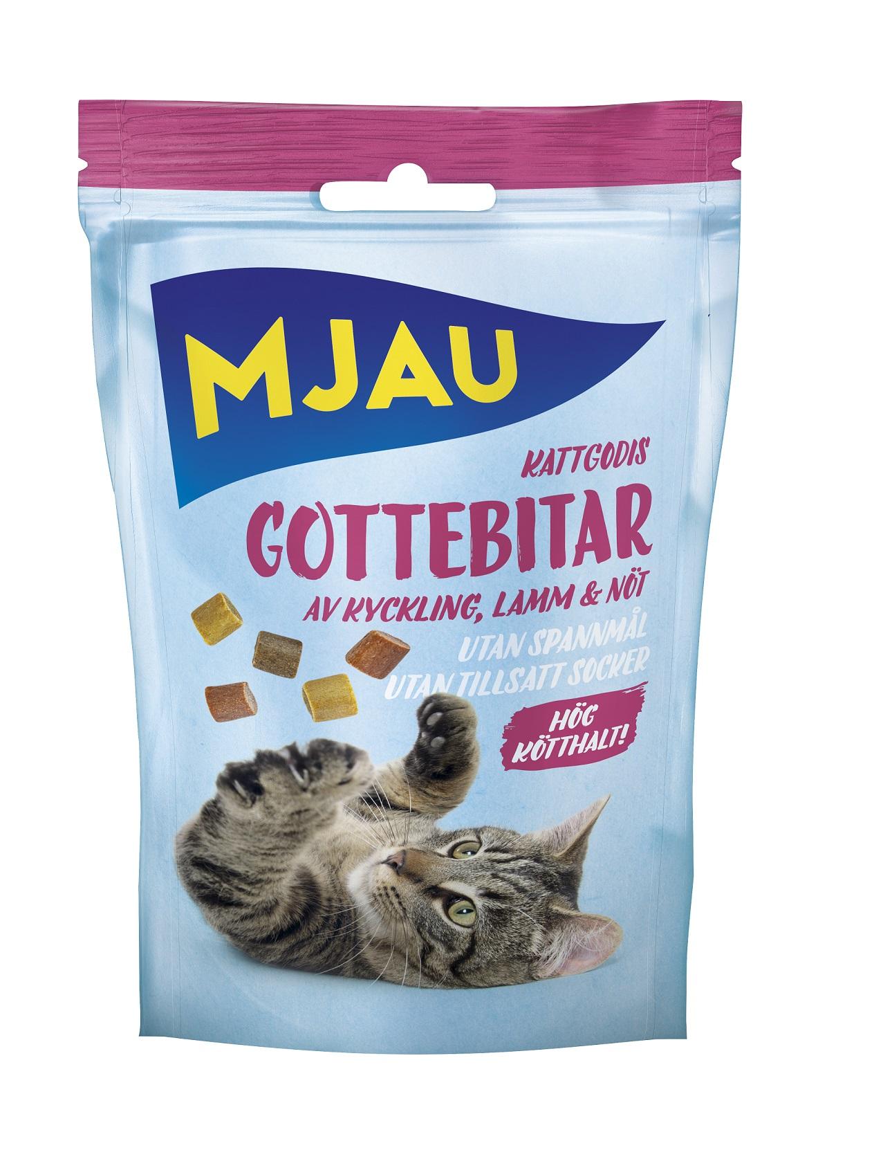 Doggy Kattgodis Gottebitar Mix 30g