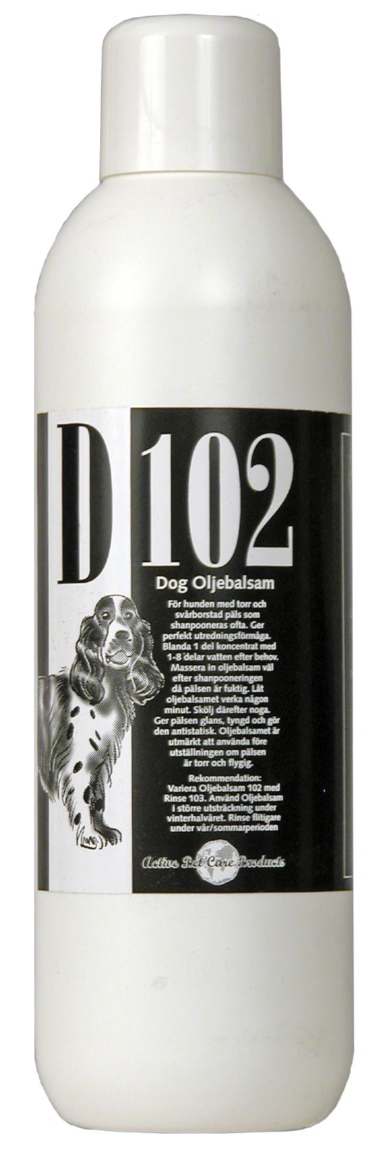 Active Pet Care Balsam D102 Olja 1000ml