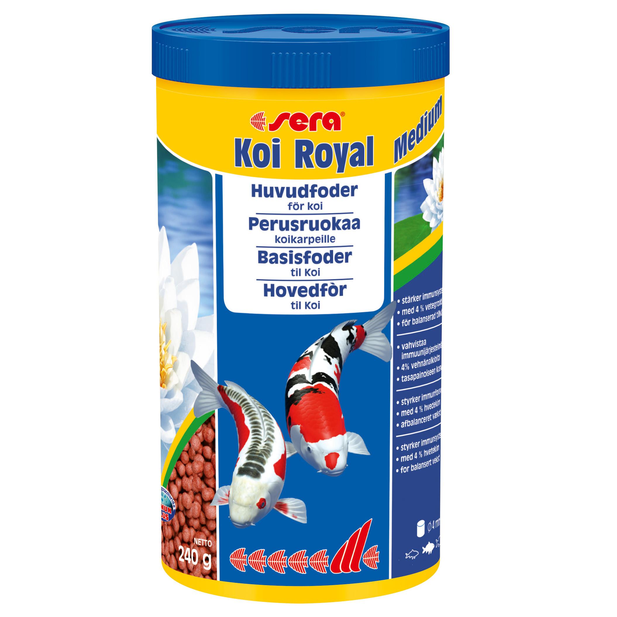 Sera Koi Royal pellets M 1000ml