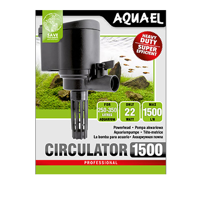 Aquael Cirkulationspump Cirkulator 22W 1500l/h