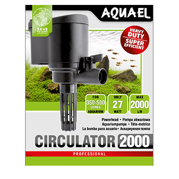 Aquael Cirkulationspump Cirkulator 27W 2000l/h