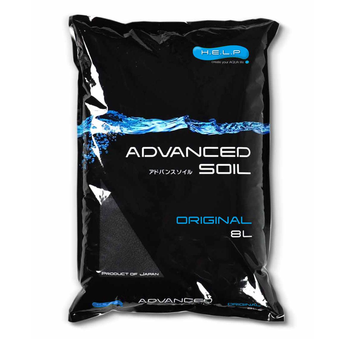 Aquael H.E.L.P Advanced Soil Orginal 8L