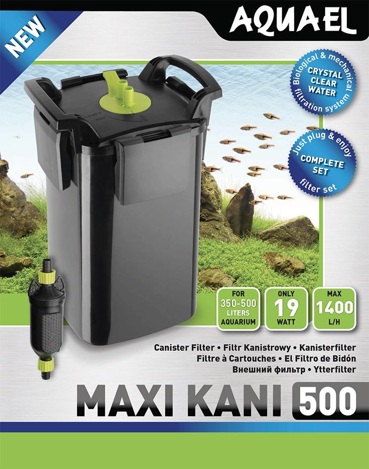 Aquael Ytterfilter Maxi Kani 16W 1400l/h