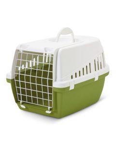 Transportbur Trotter 1, grønn til katt og små hunder