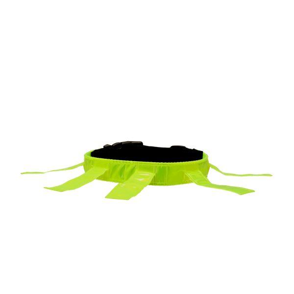 Dogman Reflexhalsband med flärpar Gul