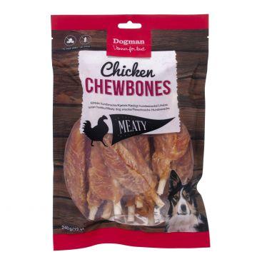 Dogman Chicken chewbones 12p S 12,5cm