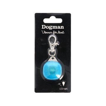 Dogman Blinklampa Burger LED Turkos 3cm