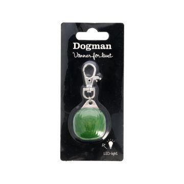 Dogman Blinklampa Burger LED Grön 3cm