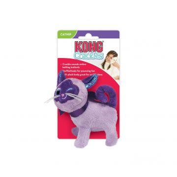 KONG Leksak Crackles Winkz Cat Lila 10cm
