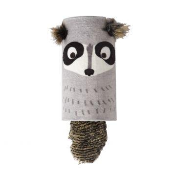 GiGwi Leksak MelodyChaser Raccoon Grå 22cm