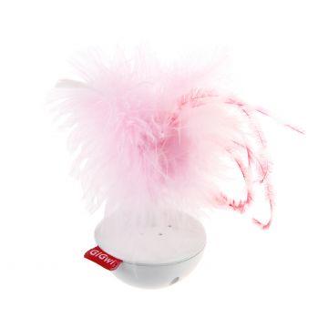 GiGwi Leke Wobble Feather PetDroid Hvit 14cm