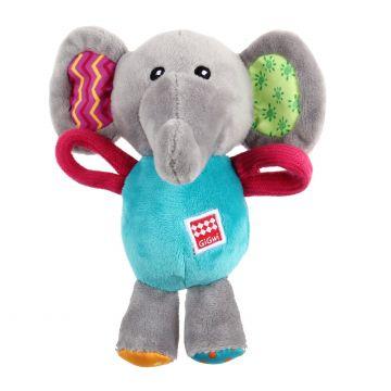 GiGwi Leke PlushFriendz Elephant Flerfarget S 16cm