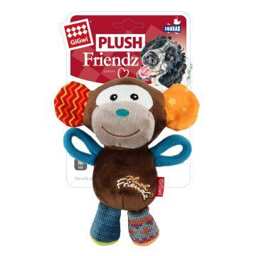 GiGwi Leksak PlushFriendz Monkey Flerfärgad S 16cm