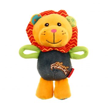 GiGwi Leksak PlushFriendz Lion Orange S 16cm
